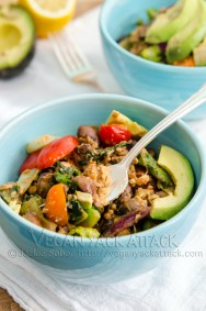 Warm Tempeh Salad