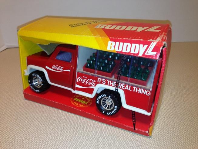 Coca Truck L Buddy Toy Cola