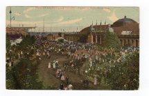 Postcard. Manufacturers Building Toronto Fair Grounds