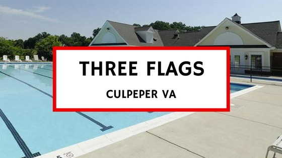 homes for sale in three flags culpeper va