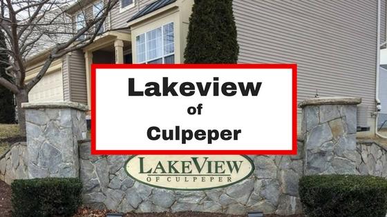 lakeview of culpeper va homes