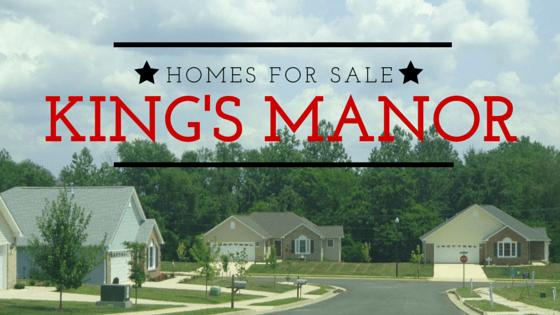 homes for sale kings manor culpeper va