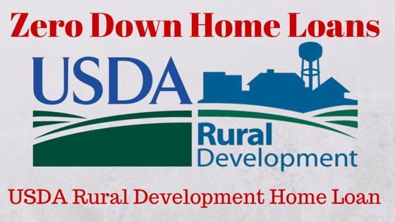USDA Rural Development Home Loan
