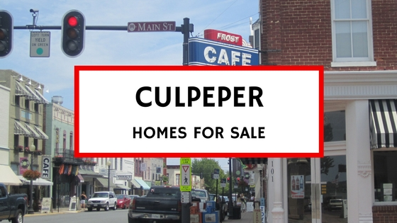 culpeper va homes for sale