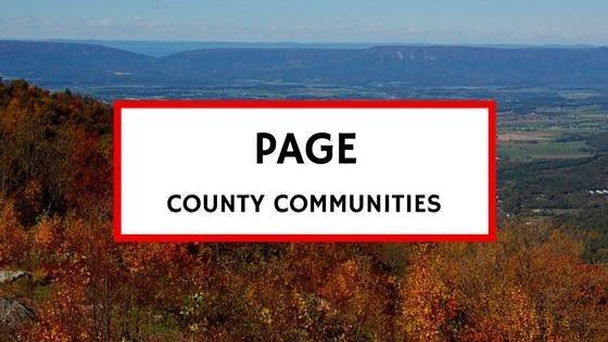 page county va communities