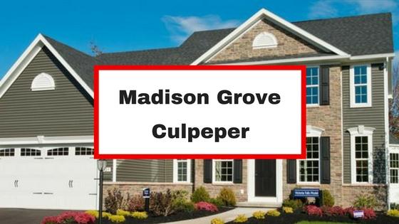 Madison grove culpeper va homes