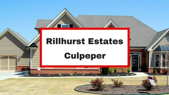 rillhurst estates culpeper va