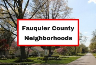 fauquier county virginia neighborhoods