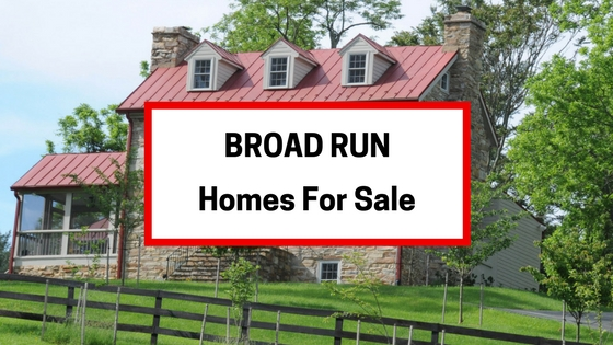 broad run va homes for sale