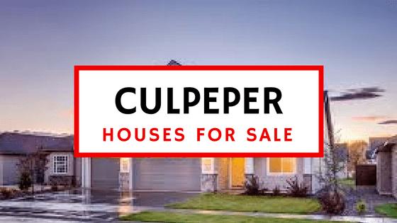 Houses for Sale in Culpeper Virginia