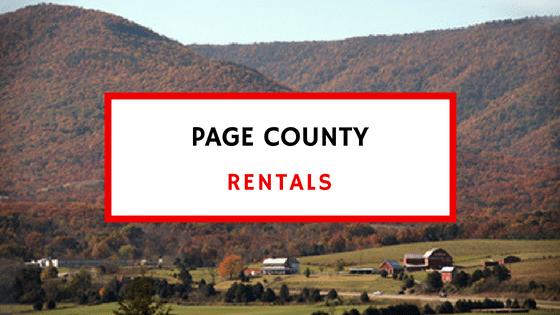 page county va rentals