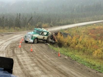 Broken drive line