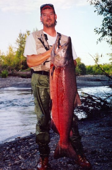 Jack's 75 pound King Salmon circa 2000
