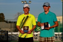 Champion Daniel Kosakowski with Mitchell Krueger, Runner Up