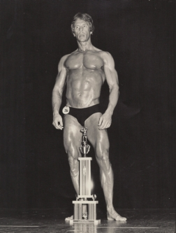 Champion of the Masters' Class 1983 AAU Gold Cup Physique Championships