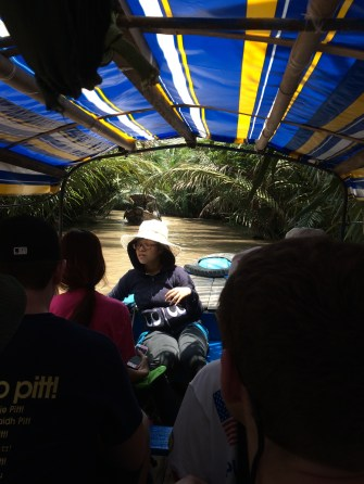 Mekong Delta river ride