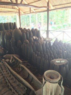 Bomb Shells from the Vietnamese at Co Chi Tunnels