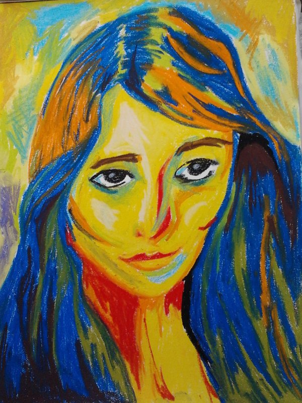 Fauvism Self Portrait