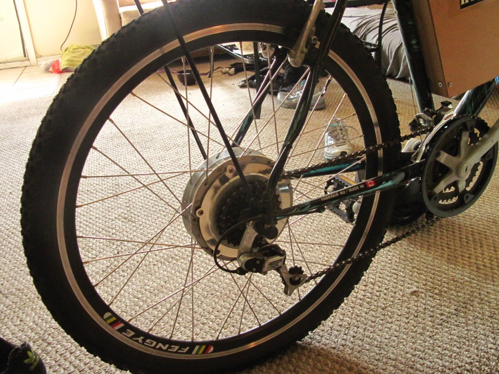 My electric bicycle (5/6)