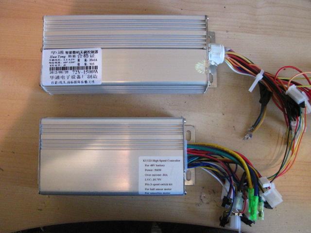 Controller Mod: KU123 100V ! (1/6)