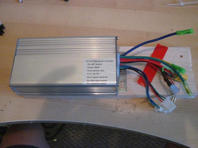 Controller Mod: KU123 100V ! (6/6)
