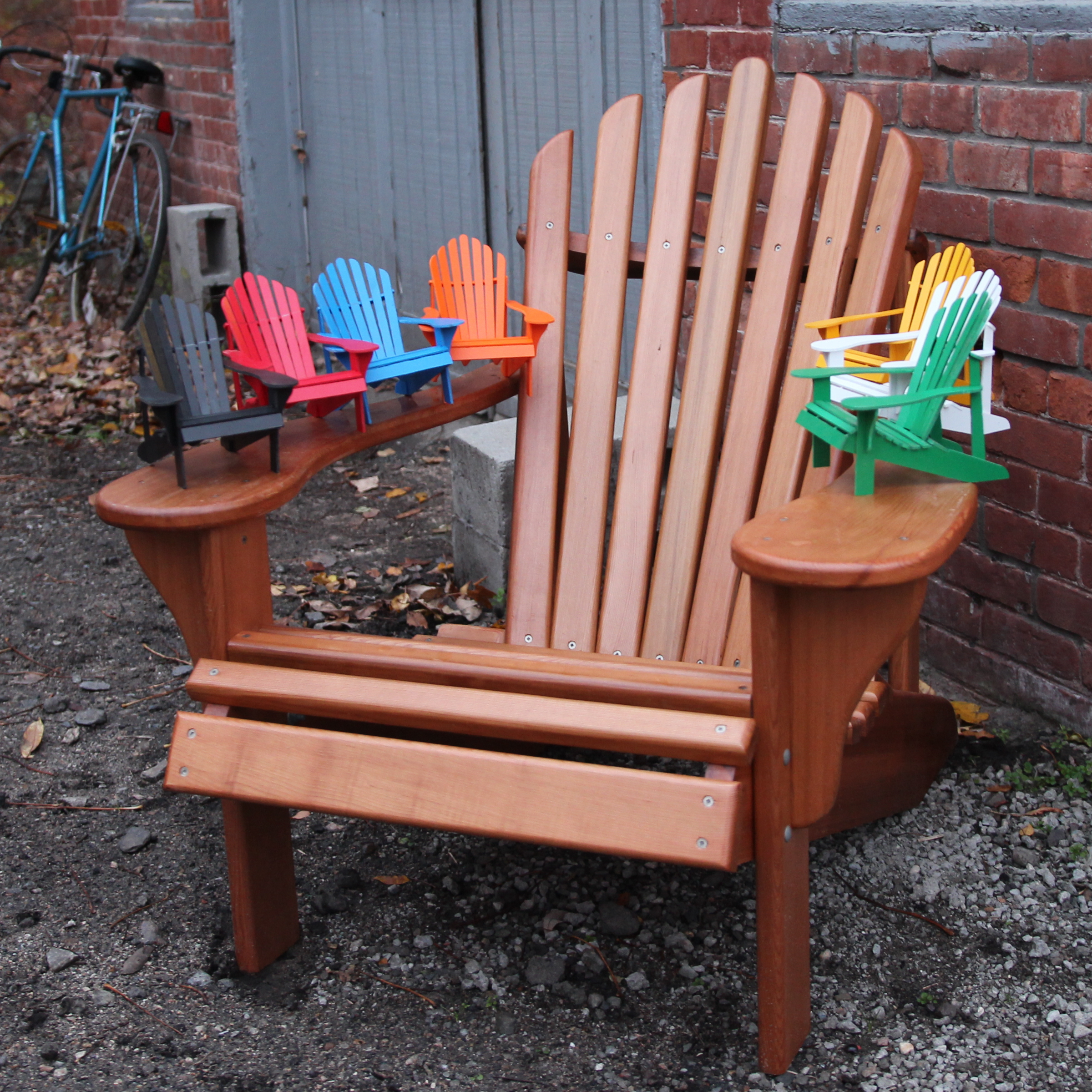 Mini Adirondack Chairs Adirondack Chair Miniature Jackman Works