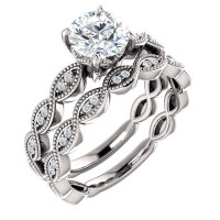 Sculptural Solitaire Engagement Ring - Jack Miller Jewelry ...