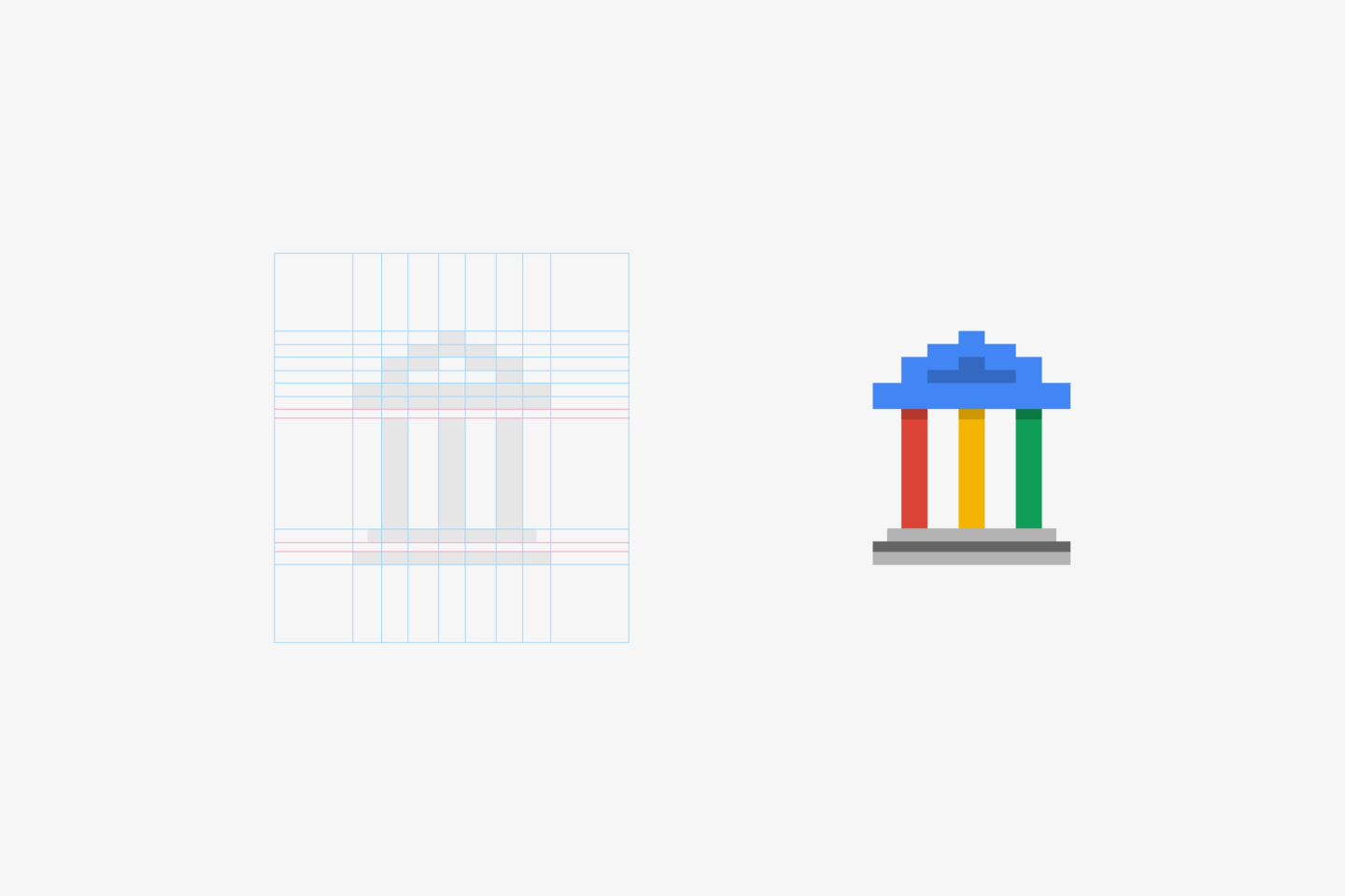Google Digital Academy Logo Draft - Grid