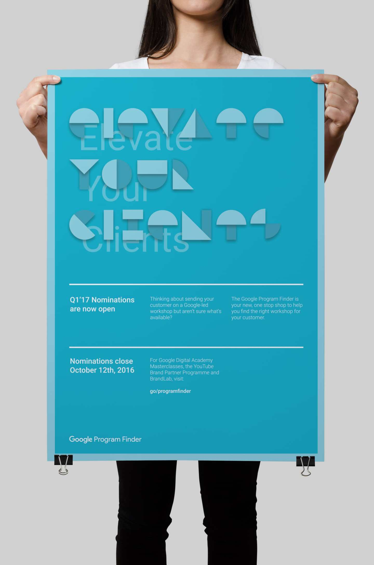 Google GTOC Material Design Color Palette Poster