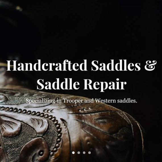 Jack Parrish's The Saddle Guy Web Design