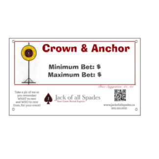 Crown and Anchor Sign
