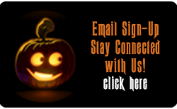 Jack o' Lantern Email Sign-up