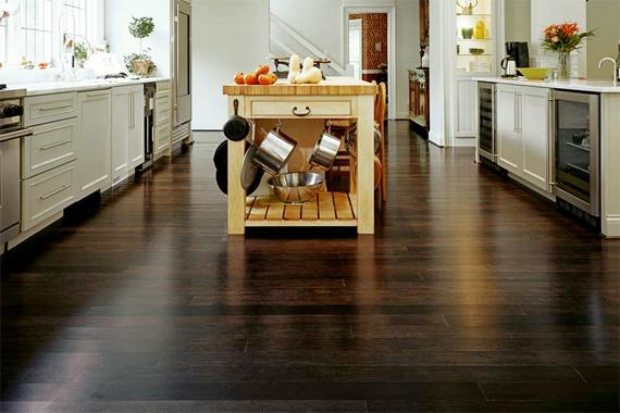 wood flooring for kitchen cart stainless steel top selecting floors plus best