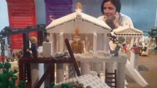 A Lego Parthenon!