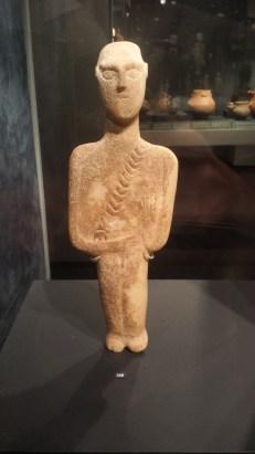 A male Cycladic figure - a warrior?