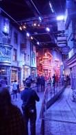 Diagon Alley on the Warner Bros Harry Potter Studio Tour