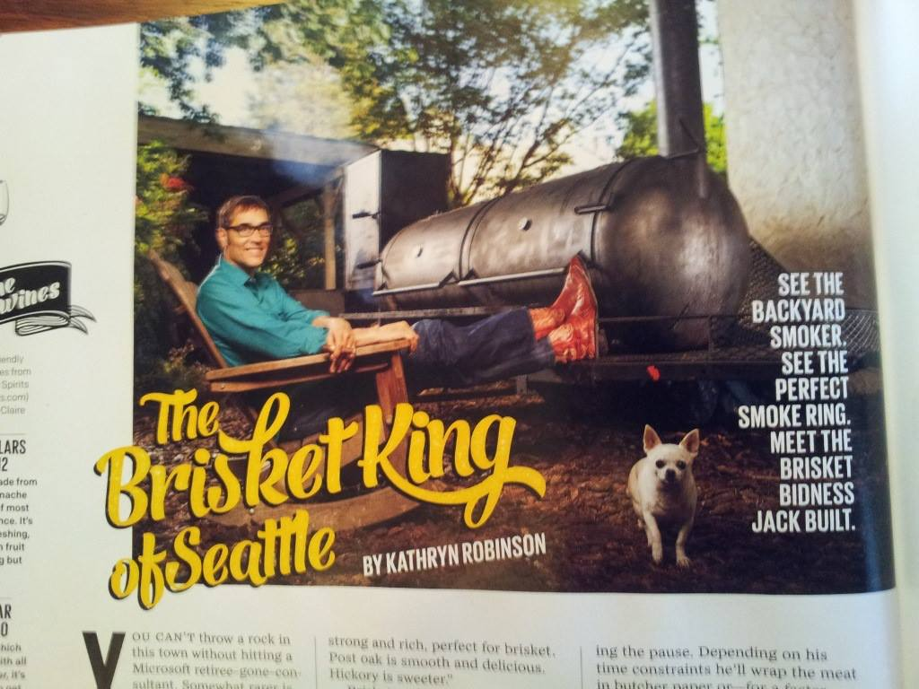 Jack Timmons Brisket King of Seattle