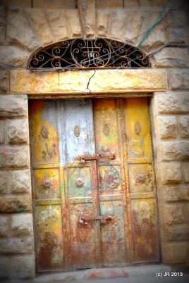 Ramallah Old City, Metal Door