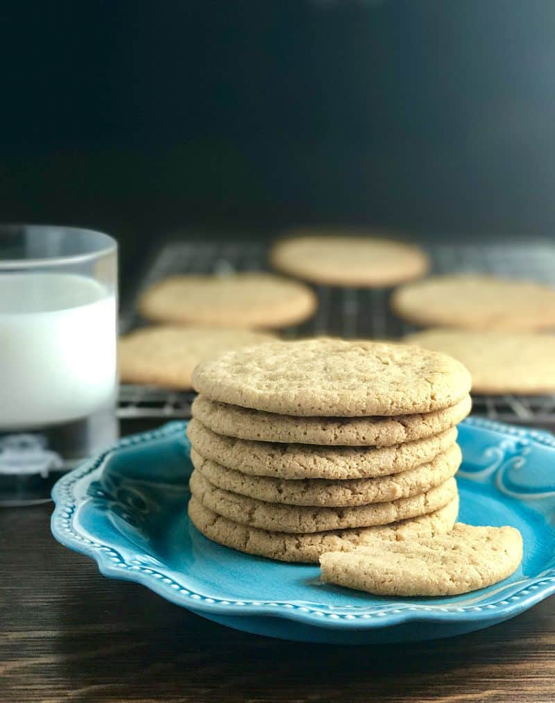 Almond-Nut-Butter-Cookies-Dairy Free