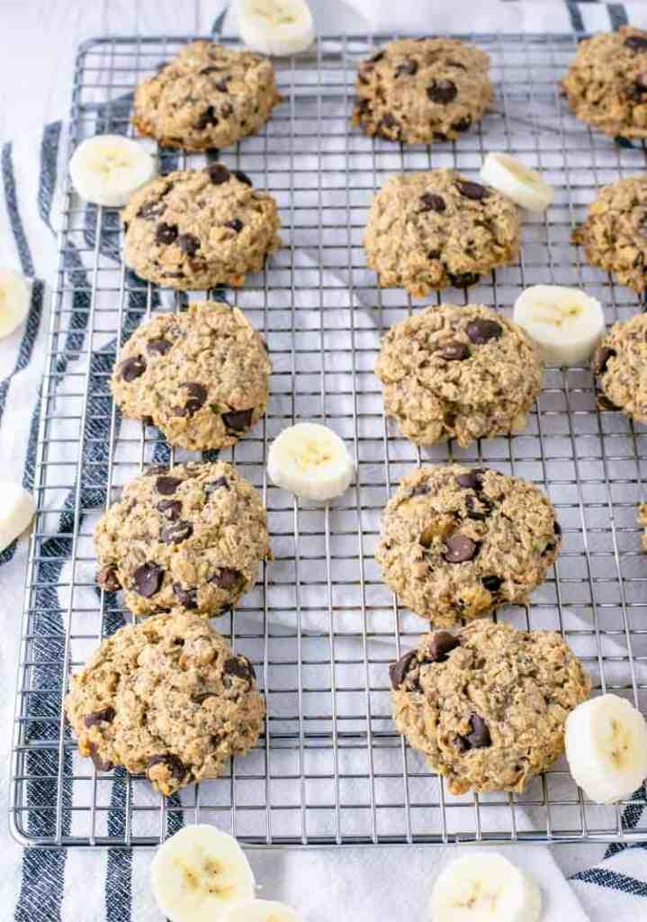 chocolate-peanut-butter-banana-breakfast-dairy free cookies