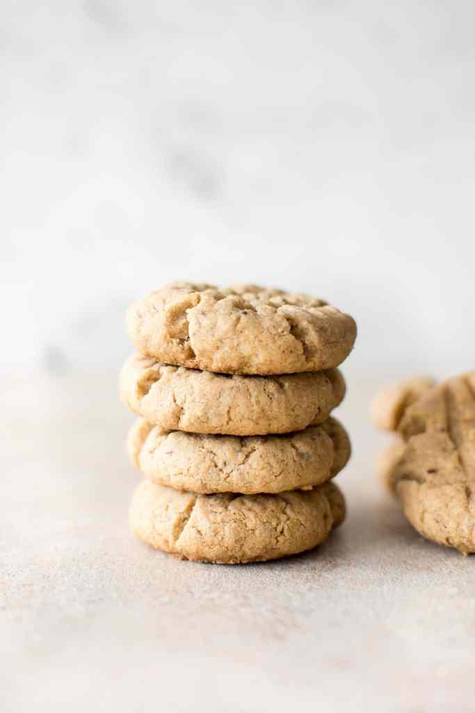 vegan peanut butter dairy free cookies