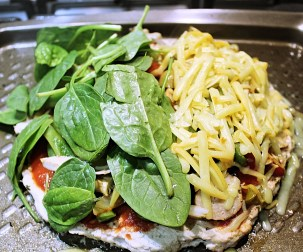 Protein Pizza 10