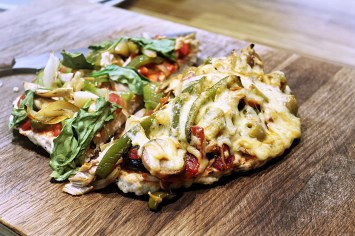 Protein pizza 1