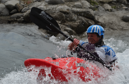 Proper Blue water – Tekapo Freestyle competition NZ