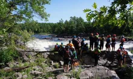 Trust is a Whitewater Kayaking Skill