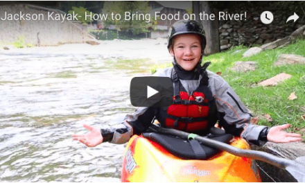 How to bring food on the river with Samantha!!