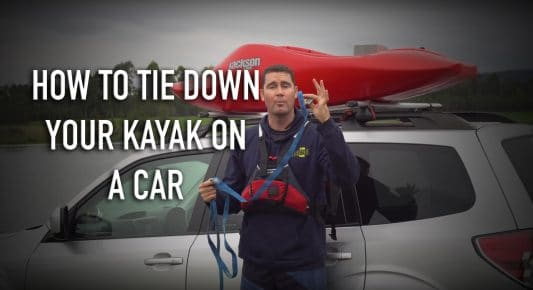 How to tie down your kayak on a car