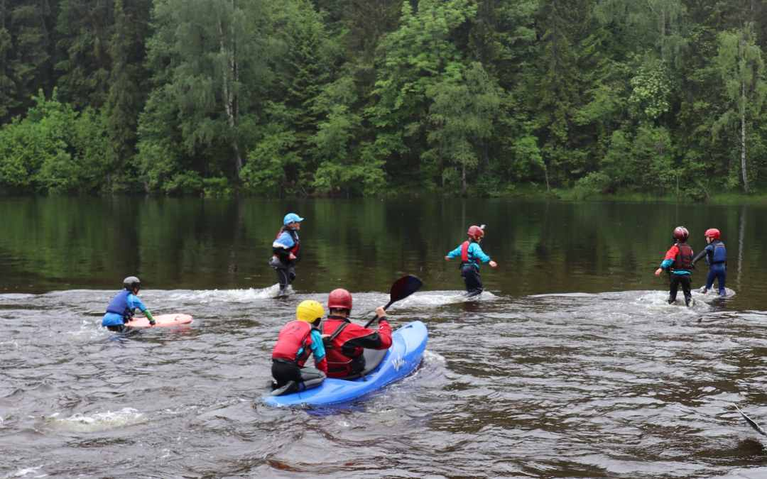 TEACHING KIDS UNDER 12 YEARS HOW TO PADDLE: TIP #5