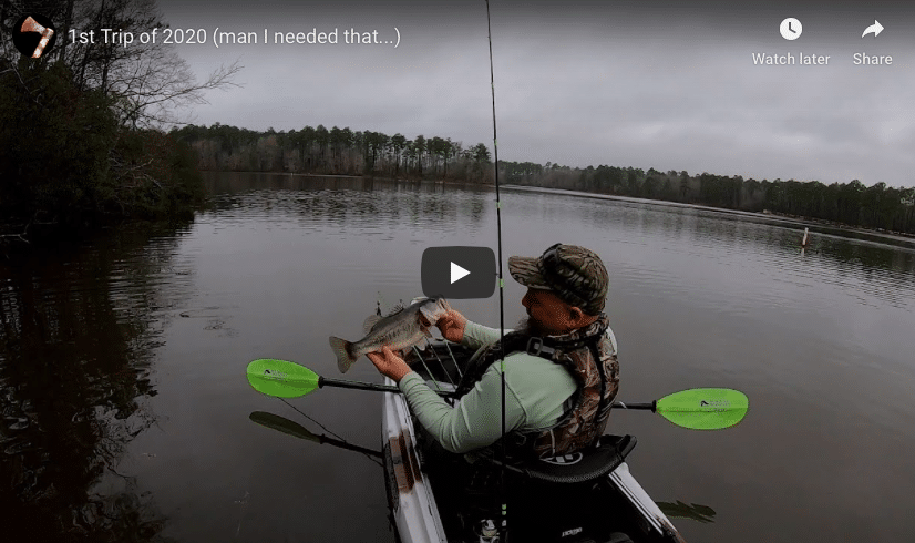 Fishing in the Kilroy HD | 1st Trip of 2020 (man I needed that)