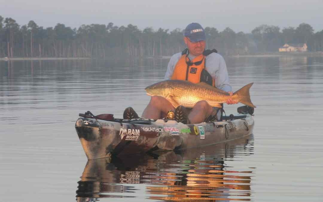 The Kayak Fishing Show with Jim Sammons visits North Carolina